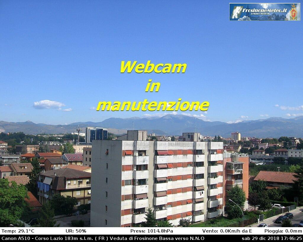 Webcam di Frosinone (FR)