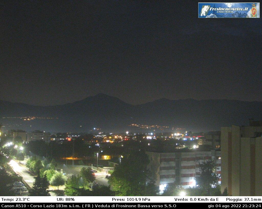 Webcam Frosinonemeteo