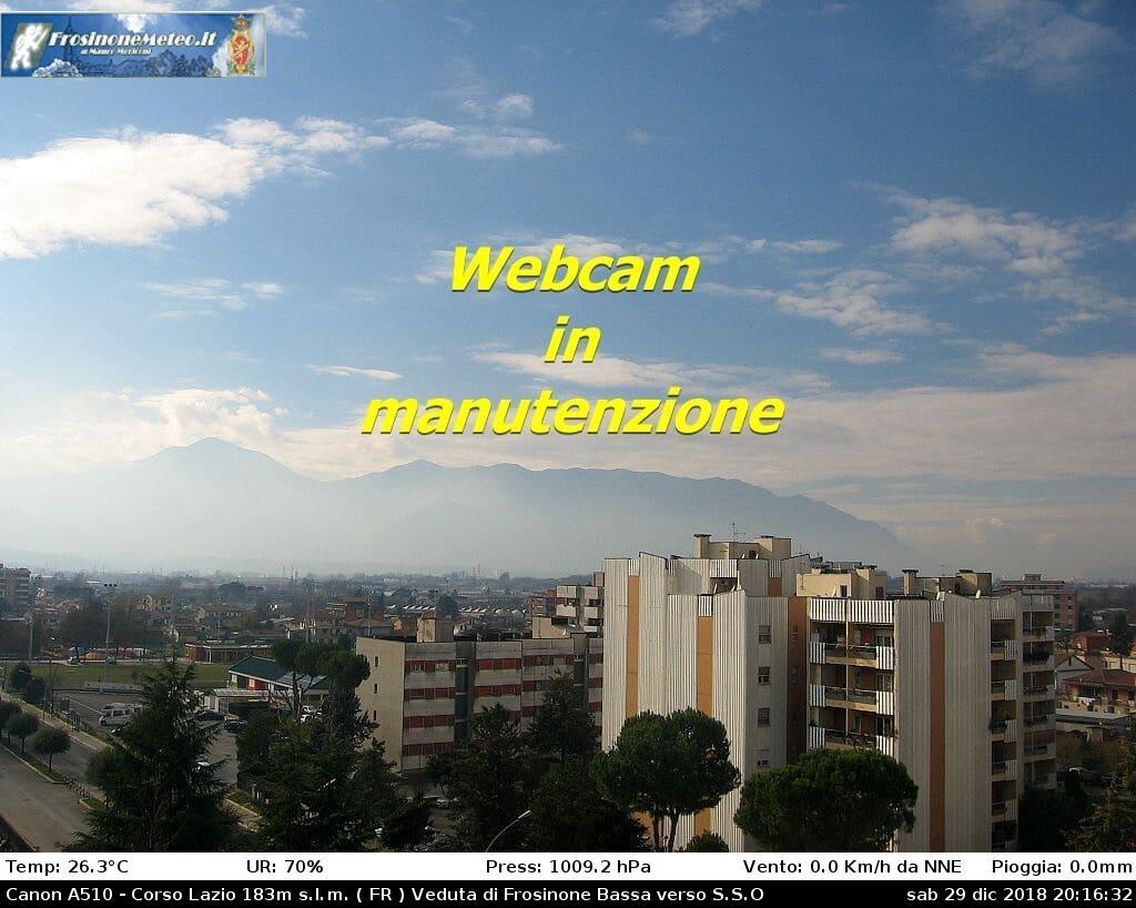 Frosinone Live Cam, Italy
